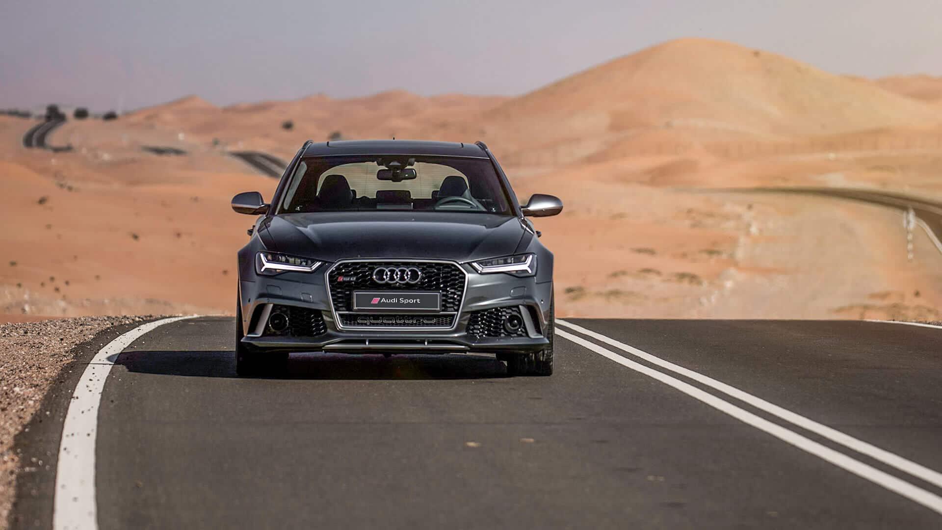 Audi RS Avant Audi A Audi Dubai - Audi rs6 2018