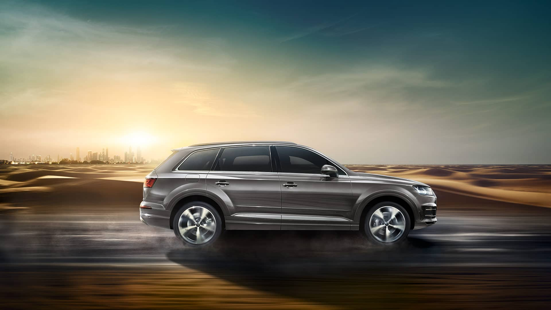powerful and dynamic that s the audi q7